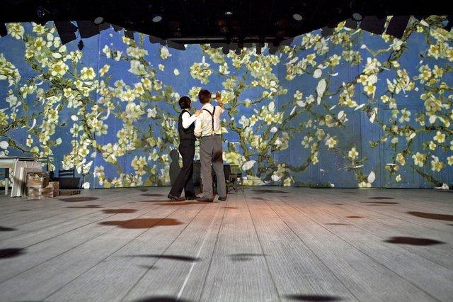 ミュージカル『ヴィンセント・ヴァン・ゴッホ』韓国版舞台写真