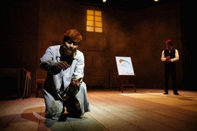 ミュージカル『ヴィンセント・ヴァン・ゴッホ』韓国版舞台写真_2