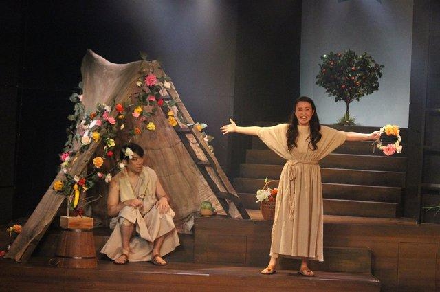 城田優初演出で「皆様に夢の時間をお届けします!」ミュージカル『アップル・ツリー』開幕