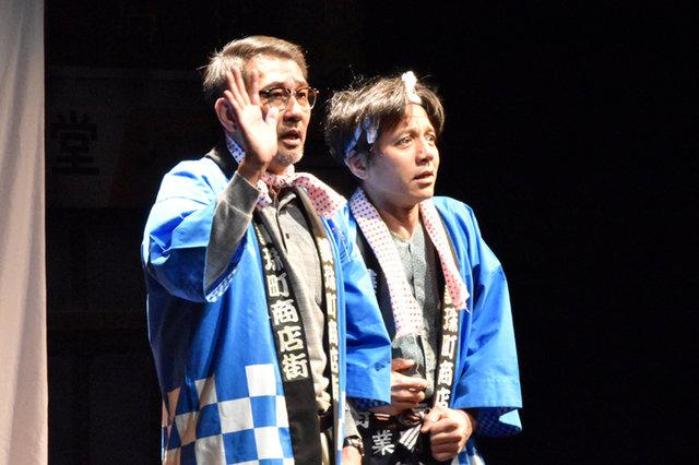 落語の演劇化!中井貴一とYOUが夫婦役を演じる『メルシー!おもてなし~志の輔らくごMIX~』ゲネプロレポート