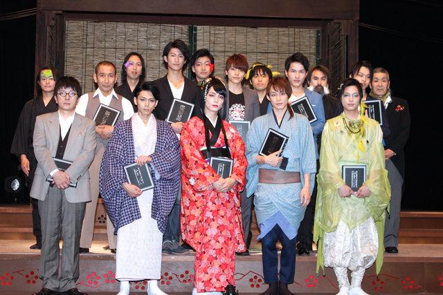極上文學 第10弾『春琴抄』開幕!和田琢磨&伊崎龍次郎が初めての女性役に「気が抜けない」