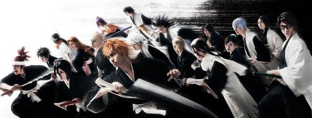 「ROCK MUSICAL BLEACH」~もうひとつの地上~、黒崎一護と護廷十三隊が勢揃いしたビジュアルを公開!