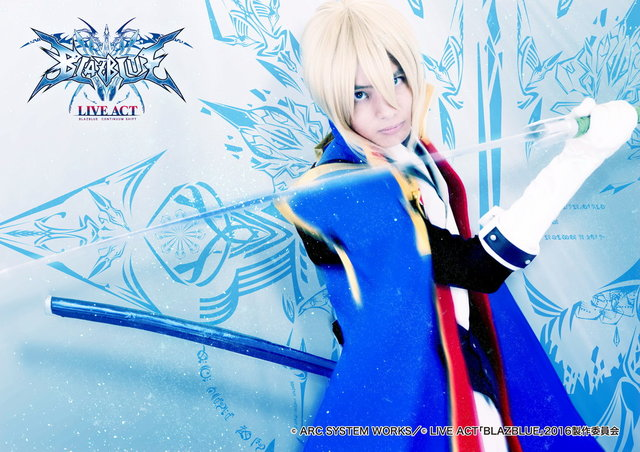 LIVE ACT「BLAZBLUE ~CONTINUUM SHIFT~」ビジュアル_2