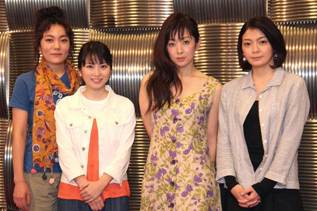 志田未来、鈴木杏、田畑智子、斉藤由貴による現パルコ劇場、最後の新作舞台『母と惑星について、および自転する女たちの記録』開幕!
