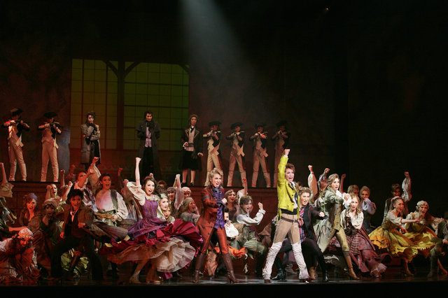 龍真咲主演!宝塚月組『1789-バスティーユの恋人たち-』WOWOWにて2016年9月放送