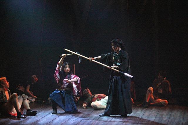 劇団鹿殺し『名なしの侍』ゲネプロ_12