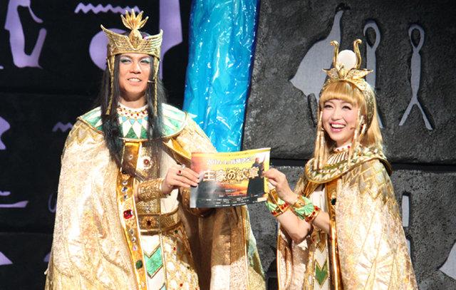 【速報】ミュージカル『王家の紋章』2017年4月より再演決定!大阪での上演も!