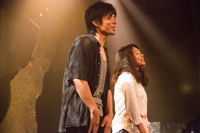 劇団鹿殺しの有田杏子が主宰する野生児童、プロデュース企画『流砂ゑ堕つ』上演