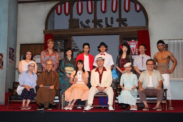 タクフェス第4弾『歌姫』東京公演が開幕!入山杏奈が先輩女優に果たし状「ハートをぶち抜くぜよ」