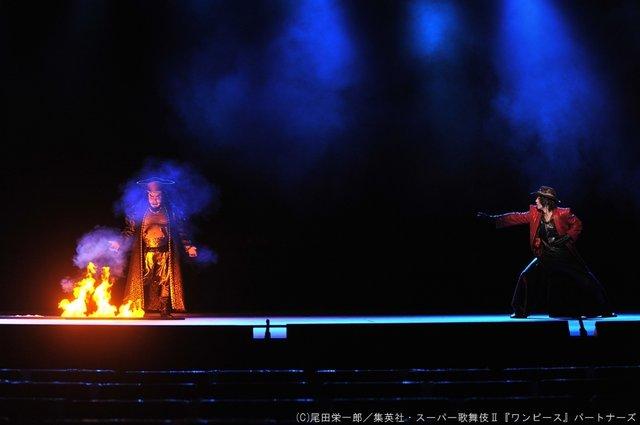 シネマ歌舞伎『スーパー歌舞伎II ワンピース』エース役・福士誠治の本火演出_2