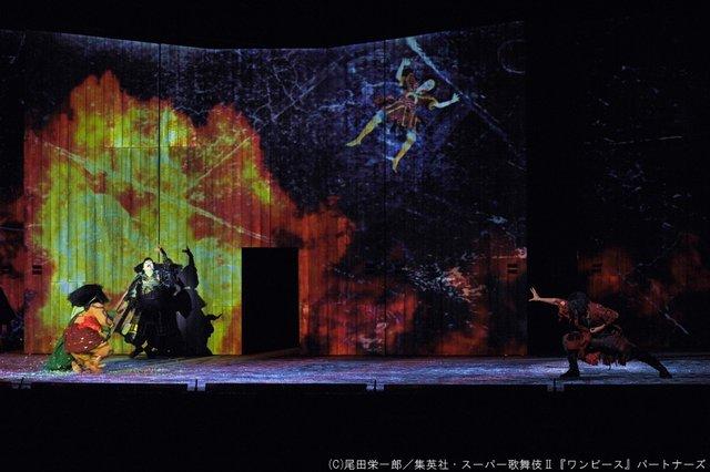 シネマ歌舞伎『スーパー歌舞伎II ワンピース』エース役・福士誠治の本火演出_3