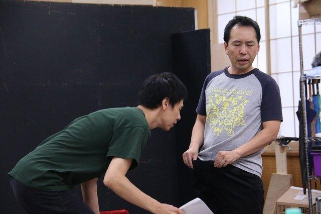 ジョンソン&ジャクソン『夜にて』稽古場レポート_6