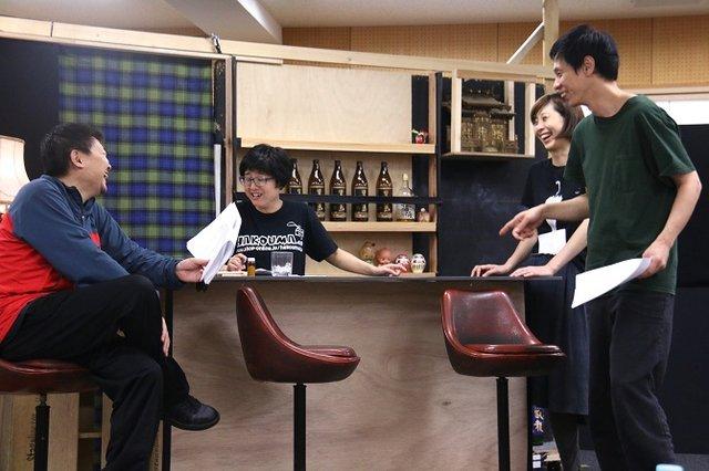 ジョンソン&ジャクソン『夜にて』稽古場レポート_8