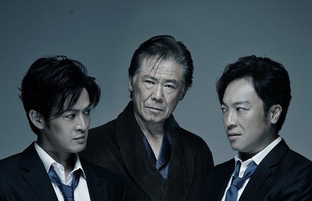『スルース~探偵~』西岡徳馬、新納慎也&音尾琢真一堂に会したメインビジュアルを公開