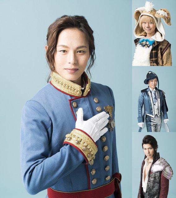 『スマイルマーメイド』荒木宏文が王子に、原田優一がイルカに!キャラクタービジュアル公開