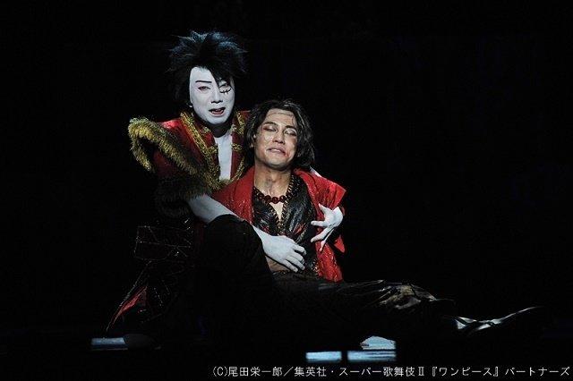 シネマ歌舞伎『スーパー歌舞伎II ワンピース』白ひげ、エースの感動の名シーンを完全再現!場面写真を公開