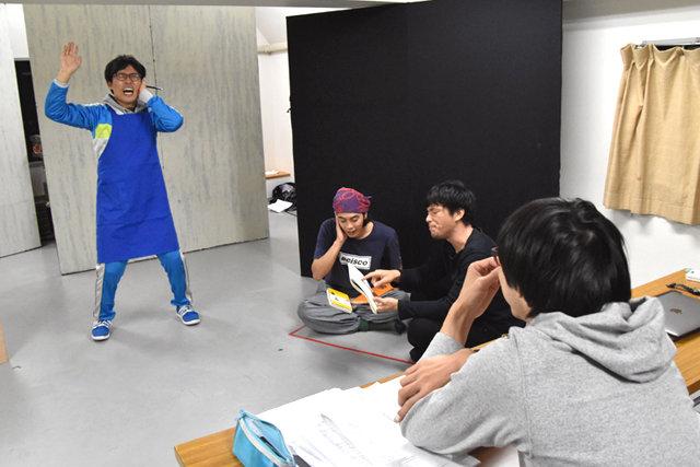 結城企画『ブックセンターきけろ』稽古場レポート_6