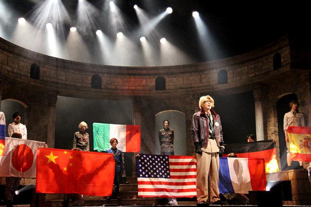 個性豊かな国擬人化キャラクターによるコメディ第2弾!ミュージカル「ヘタリア~The Great World~」開幕