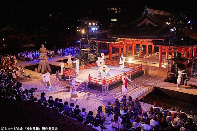 ミュージカル『刀剣乱舞』in 嚴島神社公演レポート!期間限定のアンコール配信も決定