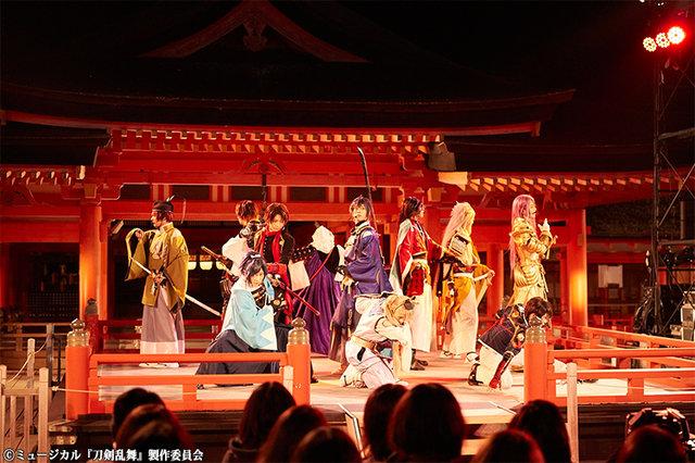ミュージカル『刀剣乱舞』in 嚴島神社公演レポート_10