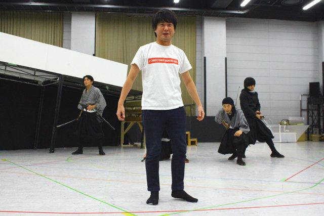 舞台『剣豪将軍義輝~戦国に輝く清爽の星~』公開稽古レポート_8