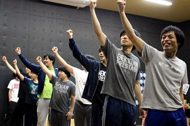 劇団プレステージ×ヨーロッパ企画『突風!道玄坂歌合戦』稽古場レポート_3