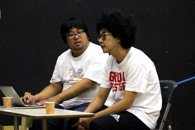 劇団プレステージ×ヨーロッパ企画『突風!道玄坂歌合戦』稽古場レポート_6
