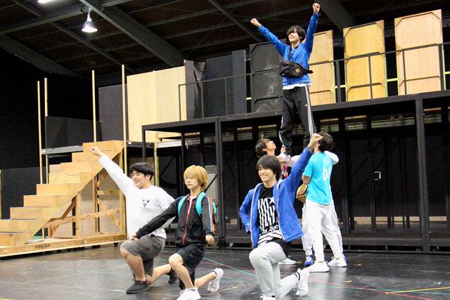未体験のライブパフォーマンス!開幕が待ちきれないLive Performance Stage「チア男子!!」稽古場レポート