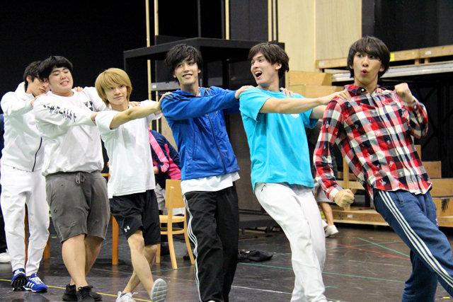 Live Performance Stage「チア男子!!」稽古場レポート_10