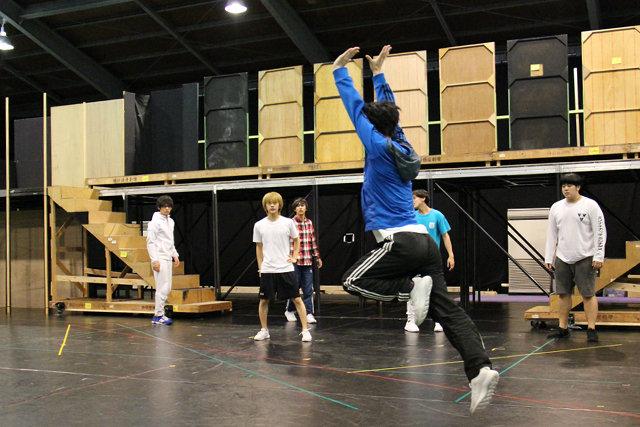 Live Performance Stage「チア男子!!」稽古場レポート_11
