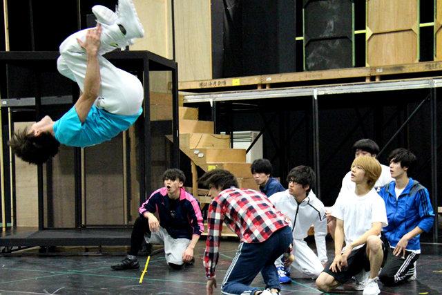 Live Performance Stage「チア男子!!」稽古場レポート_12