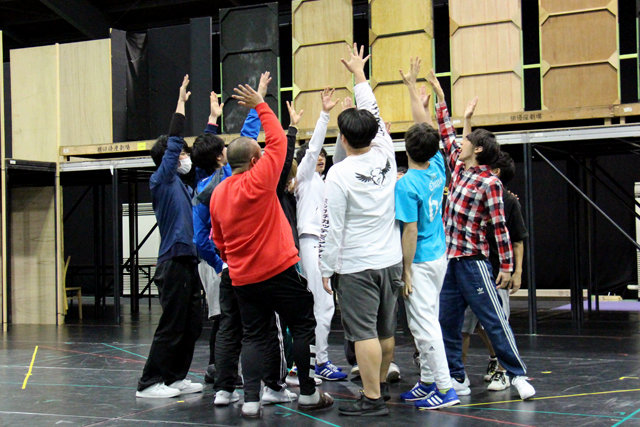 Live Performance Stage「チア男子!!」稽古場レポート_2