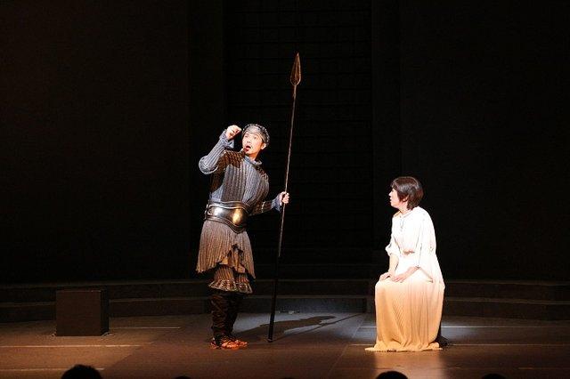 浅利慶太プロデュース公演『アンチゴーヌ』開幕レポート_9