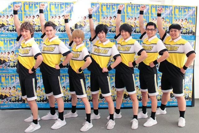 本田礼生、古田一紀らが本気のチアリーディングで魅せる!Live Performance Stage「チア男子!!」開幕