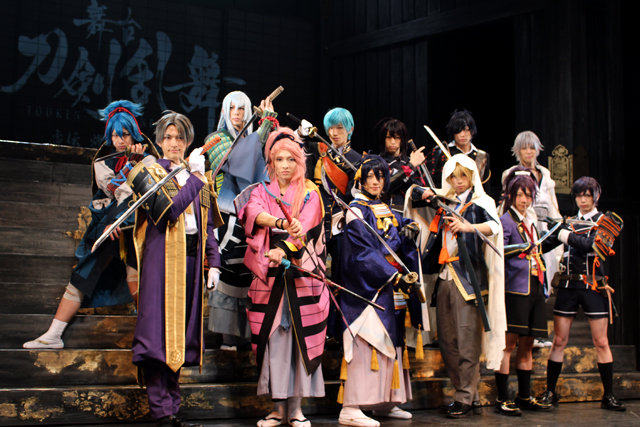 舞台『刀剣乱舞』再演公開ゲネプロ_5