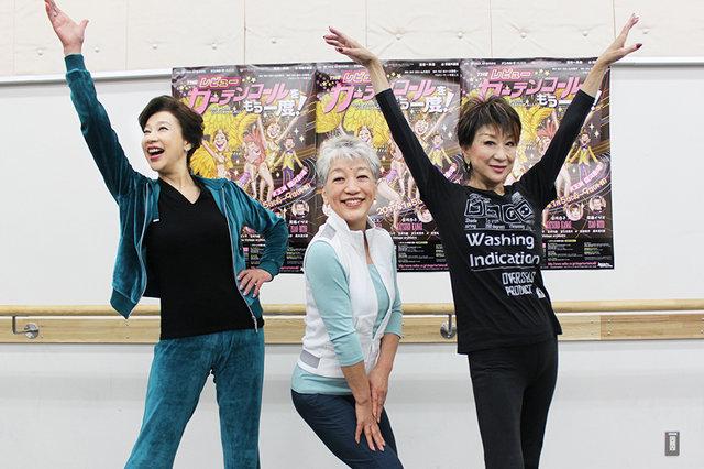 Theレビュー『カーテンコールをもう一度!』の楽曲披露!前田美波里「人生が全部出てしまう」