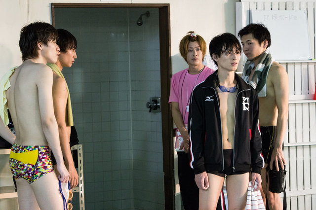 松田凌、宮崎秋人らの泳ぐ姿がついに公開!ドラマ版『男水!』の劇中写真到着