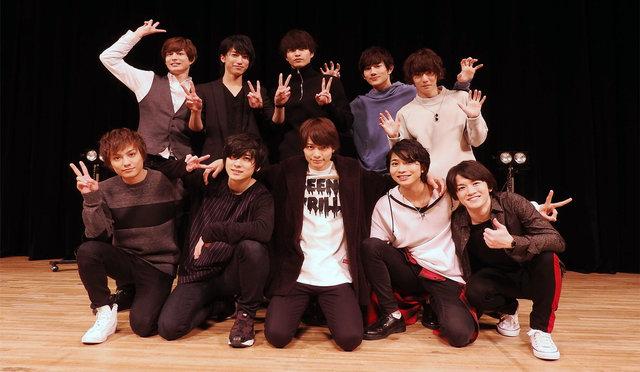 「あんステ」第1弾のBlu-ray&DVDイベントに小澤廉らキャスト10名が集結!第2弾は明日から大阪公演