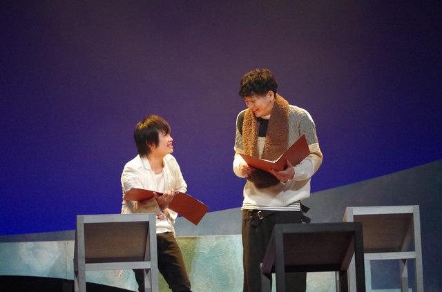 磯貝龍虎、鳥越裕貴ペアで朗読劇『旅猫リポート』開幕!6名の俳優が日替わりで臨む感涙の名作