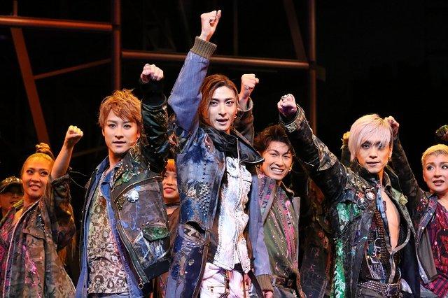ミュージカル『ロミオ&ジュリエット』舞台写真