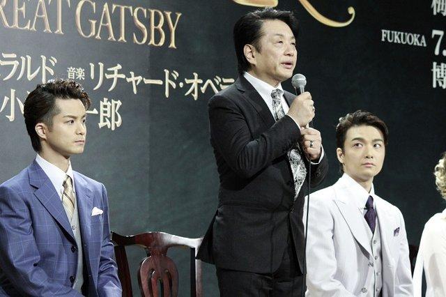 ミュージカル『グレート・ギャツビー』製作発表記者会見_小池修一郎_2