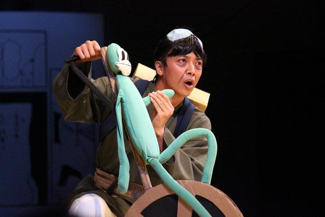『舞台 増田こうすけ劇場 ギャグマンガ日和 ~奥の細道、地獄ランウェイ編~』公開ゲネプロ_9