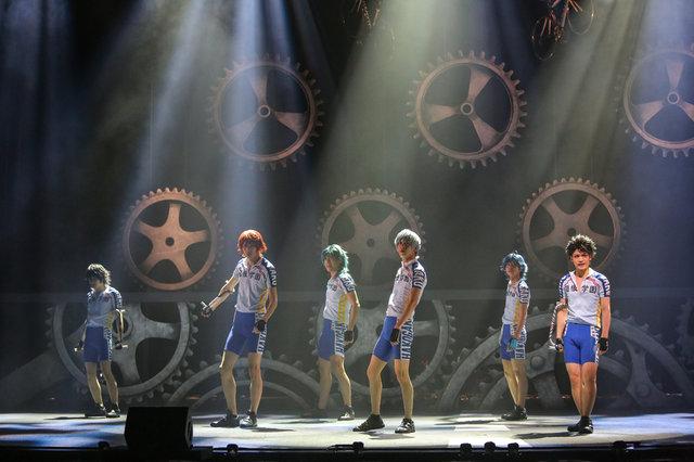 舞台『弱虫ペダル』新インターハイ篇~スタートライン~大阪公演舞台写真_3