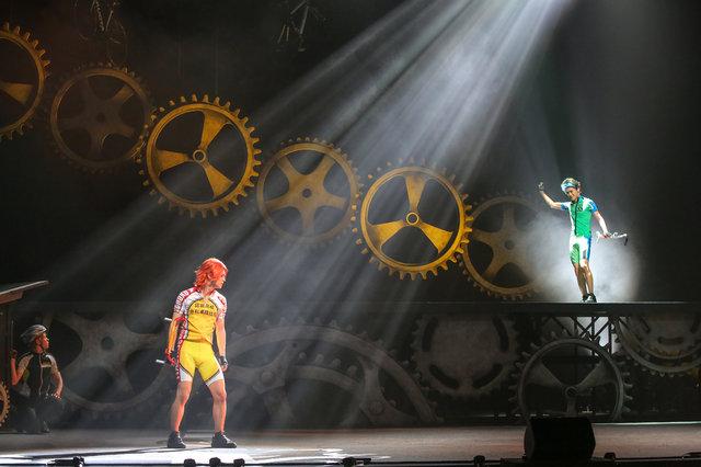 舞台『弱虫ペダル』新インターハイ篇~スタートライン~大阪公演舞台写真_5