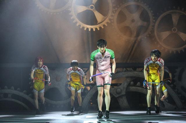 舞台『弱虫ペダル』新インターハイ篇~スタートライン~大阪公演舞台写真_6