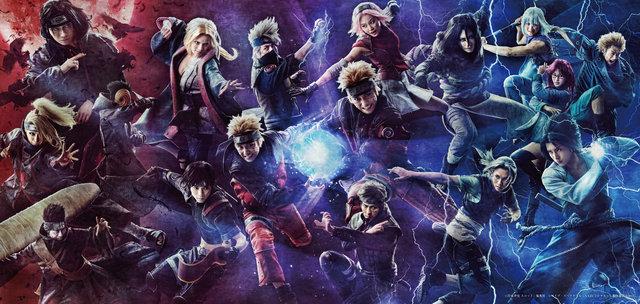 ライブ・スペクタクル「NARUTO-ナルト-」~暁の調べ~全16キャラクターが揃った集合ビジュアルを公開!