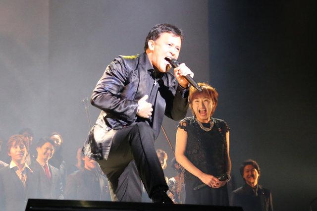 ミュージカル『レ・ミゼラブル』製作発表記者会見_橋本じゅん&鈴木ほのか
