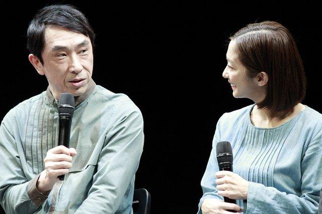 舞台『不信~彼女が嘘をつく理由』初日直前会見_段田安則&優香
