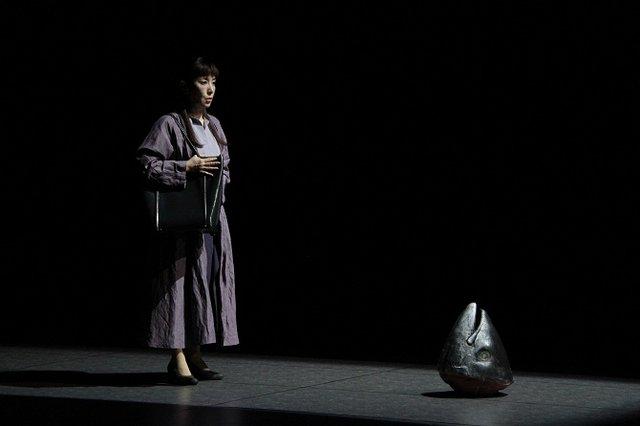 舞台『不信~彼女が嘘をつく理由』フォトコール_戸田恵子