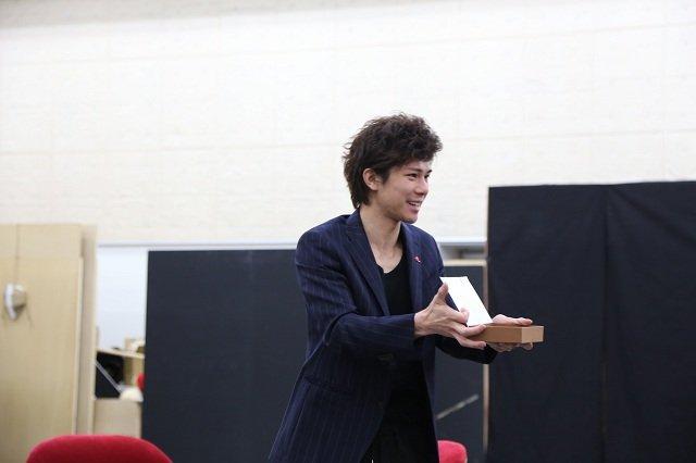 ミュージカル『紳士のための愛と殺人の手引き』公開稽古_柿澤勇人